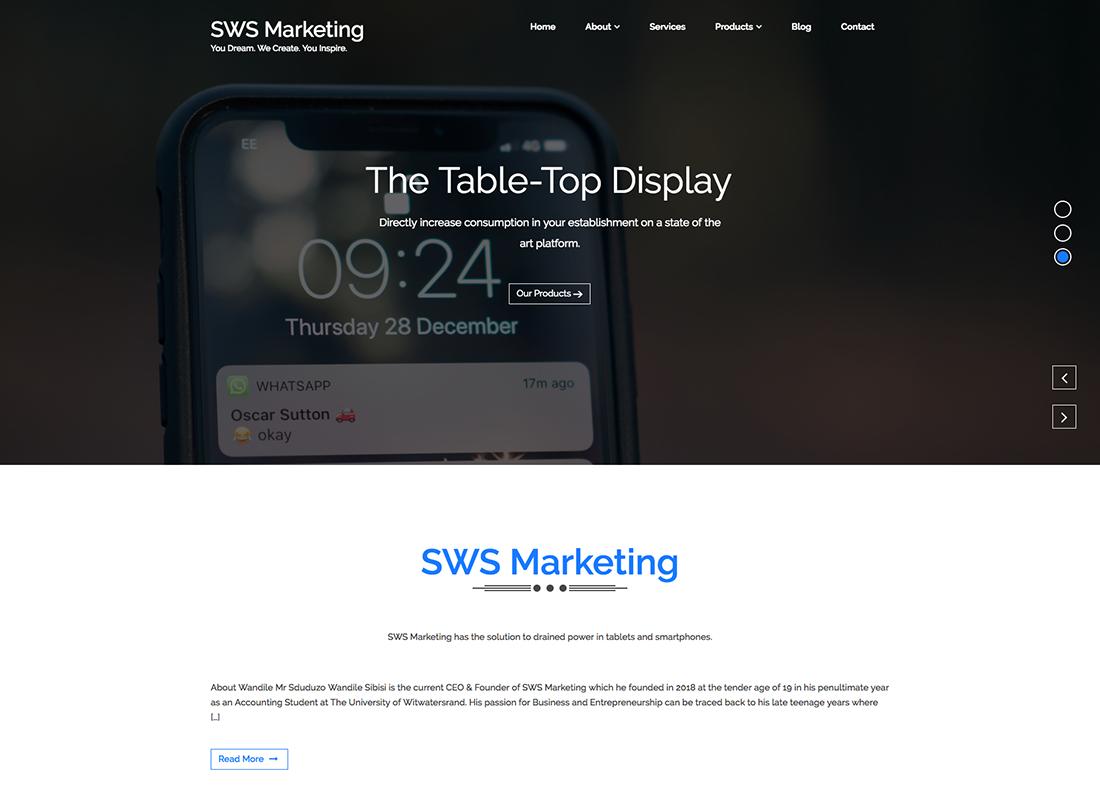 sws-marketing-website-kaskade